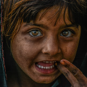 Secret in their eyes by Adnan Aslam - People Street & Candids ( child, poors, streets, candid )