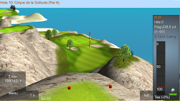 Screenshot of IRON 7 ONE Golf Game X2 FULL