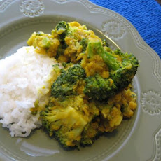 Broccoli Dal Curry