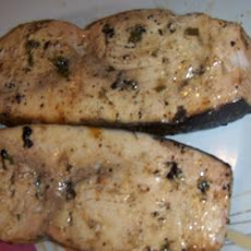 Spicy Grilled Swordfish