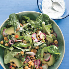 Winter Salad with Lemon-Yogurt Dressing