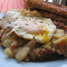Little Rooster's Cafe Corned Beef Hash