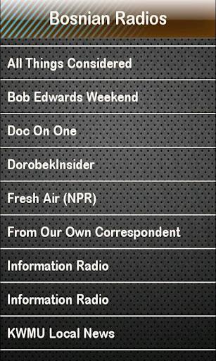 免費下載娛樂APP Bosnian Radio Bosnian Radios app開箱文 APP開箱王