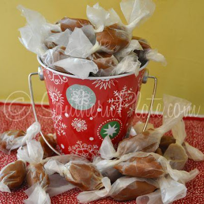 Homemade Caramels -You'll be spoiled!