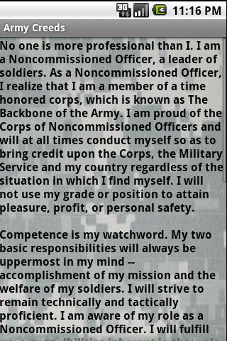 【免費生活App】Army Creeds & Info Free-APP點子