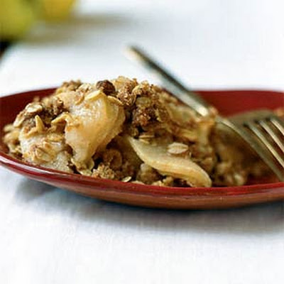 Buttery Apple Crumble