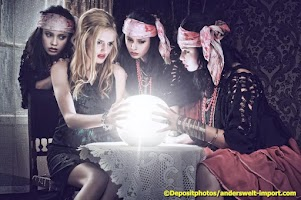 Screenshot of witch video