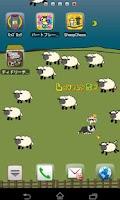 Screenshot of Lovely Sheep Livewallpaper