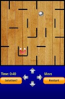 Screenshot of Tilt Mazes 2Droid - Labyrinth