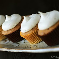 Pumpkin Maple Chip Cupcakes