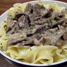 Kathy's Beef Tips With Mushrooms