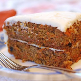 Moist Carrot Cake with Cream Cheese Frosting