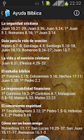 Screenshot of Santa Biblia RVR1960