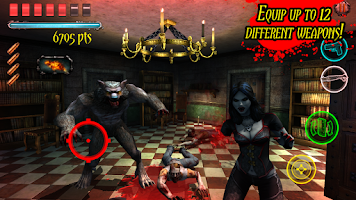 Screenshot of Zombie Hunter : Dead House