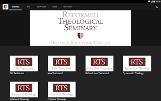 Screenshot of Reformed Theological Seminary