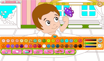Screenshot of Baby Coloring - Painting games