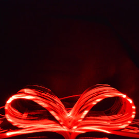Magazine ribbon by Alice Chia - Abstract Light Painting