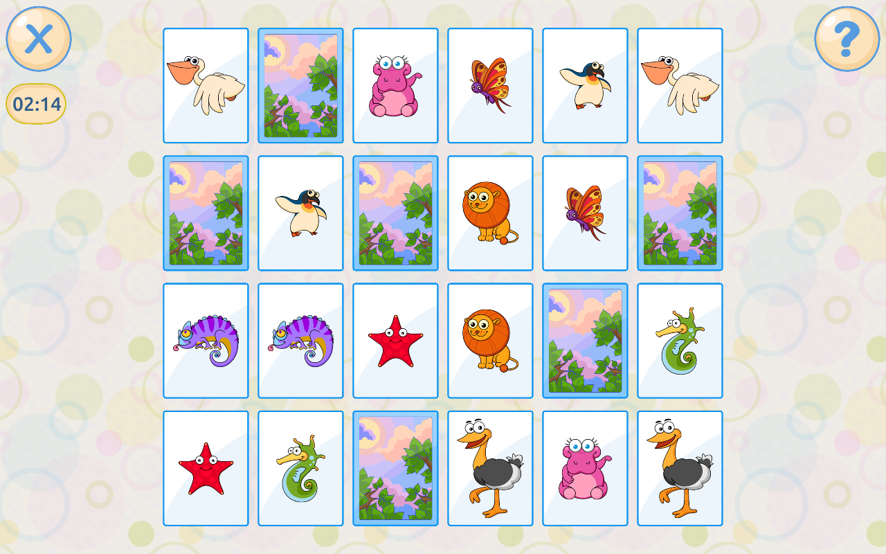 Memory games for kids 4 years Screenshot 7