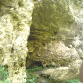 The Entrance. by Martha Boals Haselton - Landscapes Caves & Formations ( nature, grass, rock, earth, dirt,  )