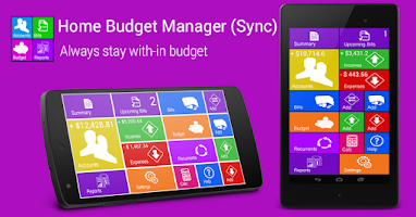 Screenshot of Home Budget Manager