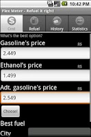 Screenshot of Flex Meter - Refuel it right!