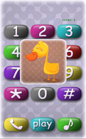 Screenshot of Kids game: baby phone