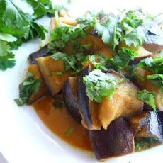 Spicy Stir-Fried Eggplant (Aubergine)