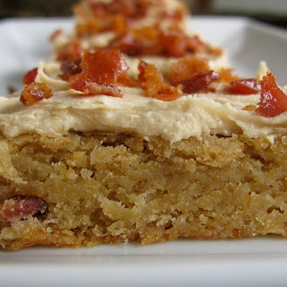 Peanut Butter Bacon Blondies