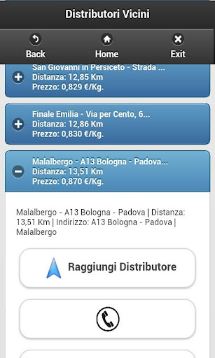 Cerca Distributori GPL PRO - screenshot