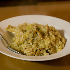 Cashew Nut and Green Pepper Risotto