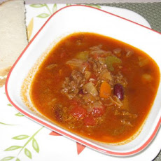 Beef Cabbage Carrot Soup