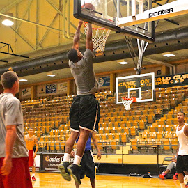 Dunk by Kathy Suttles - Sports & Fitness Basketball