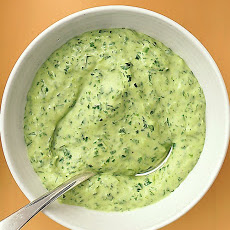 Lightened Green Goddess Dressing