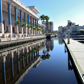 Harbour Island by Glenn Miller - City,  Street & Park  Vistas ( waterscape, harbour, tampa, reflections, landscape, downtown )