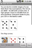 Screenshot of NLHE Poker Trainer (No Limit)