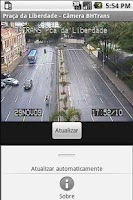 Screenshot of BHTrans Cameras