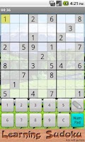 Screenshot of Learning Sudoku