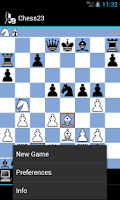Screenshot of Chess23 - chess for winners