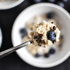 Chocolate Chip Blueberry Breakfast Quinoa