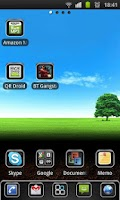 Screenshot of Elegant Theme 4 GO Launcher EX