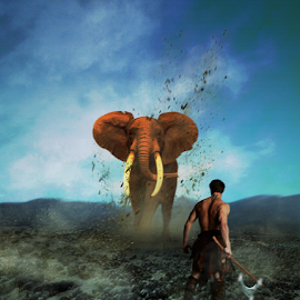 Aa zaynudin by Doni Andriady - Digital Art Animals