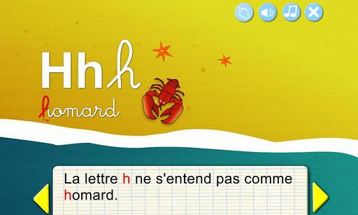 【免費教育App】法國供兒童閱讀的ABC-APP點子