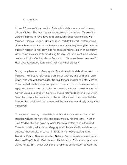 Essay of nelson mandela nelson mandela essays 2239 words