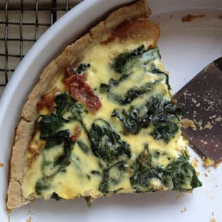 Gluten-Free Spinach and Onion Tart