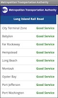Screenshot of NYS MTA/LIRR/Traffic & Travel
