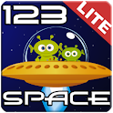 123 Space Math Lite icon