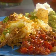 Mile-High Nachos with Homemade Salsa