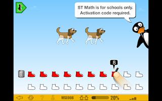 Screenshot of ST (JiJi) Math: School Version