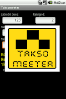 Screenshot of Taksomeeter