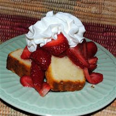 Lemon Pound Cake I